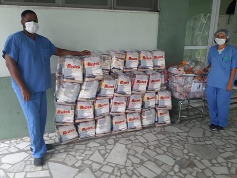 Doações de cestas básicas