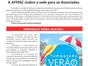 Leia a nova edição do Informativo da AFFESC