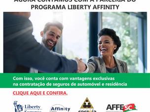 Nova parceria: Seguros Liberty Affinity