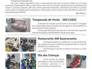 Nova edição do Informativo da AFFESC