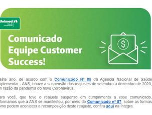 Comunicado Unimed Florianópolis