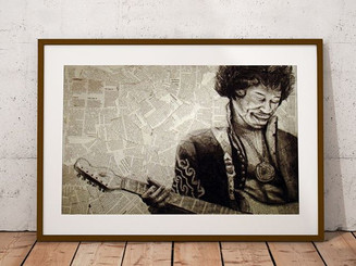 'Scuse me while I kiss the sky✌🏼Fly high & keep on keepin' on ✨ #tbt A charcoal sketch I did of Jimi Hendrix back in high school.jpg