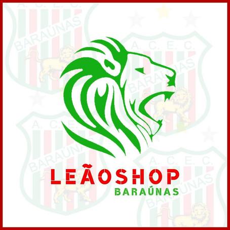Leão Shop Baraúnas: a loja oficial do Mais Querido