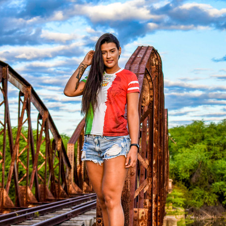 Entrevista com Gabrielle Miranda, Musa do Leão do Oeste
