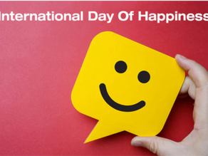 איך חגגת את יום האושר הבינלאומי