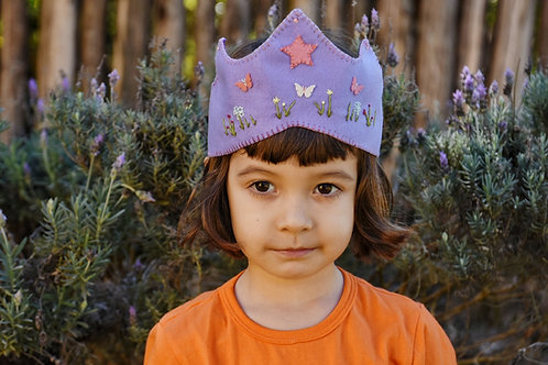 Coroa lilas