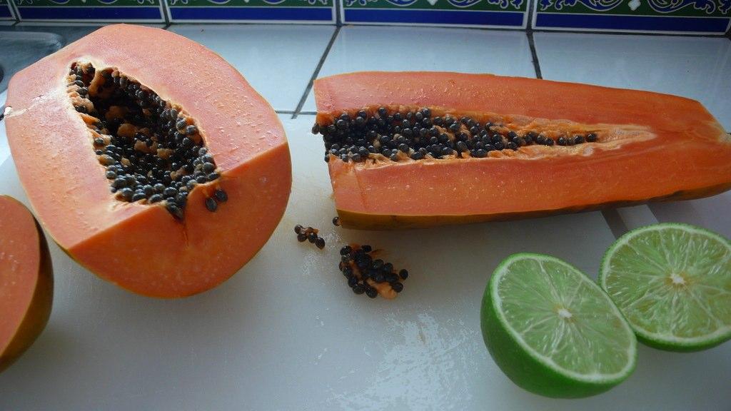 Mmmm Papaya and Lime
