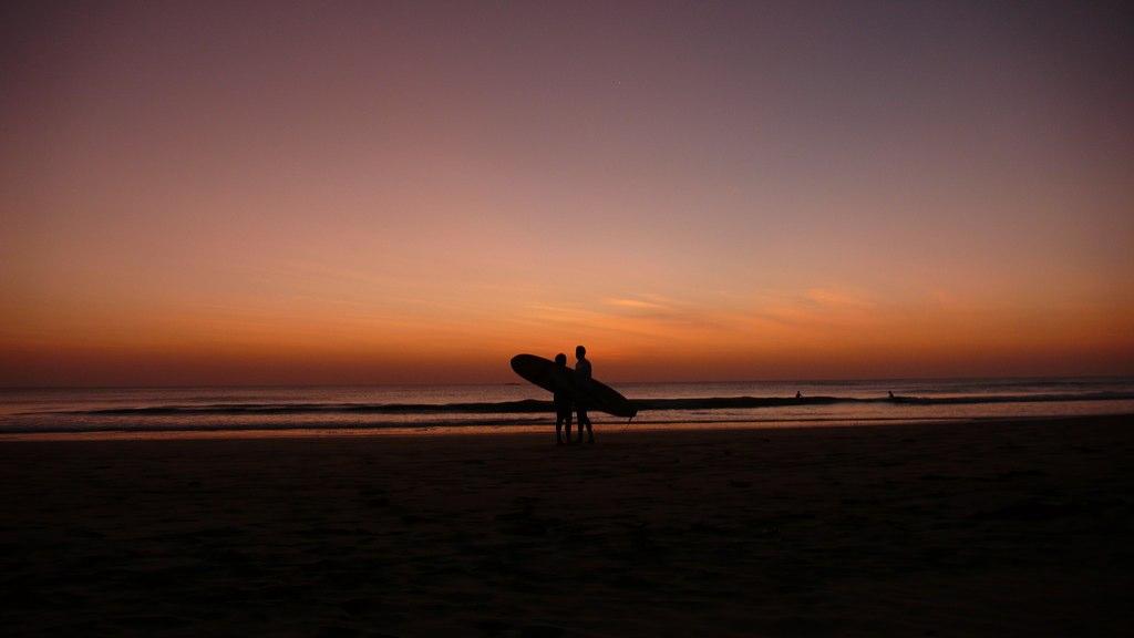 Sunset Surfing | Playa Grande