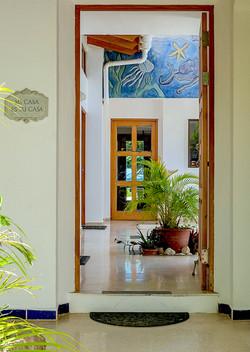 Villa Olivia Front Entrance