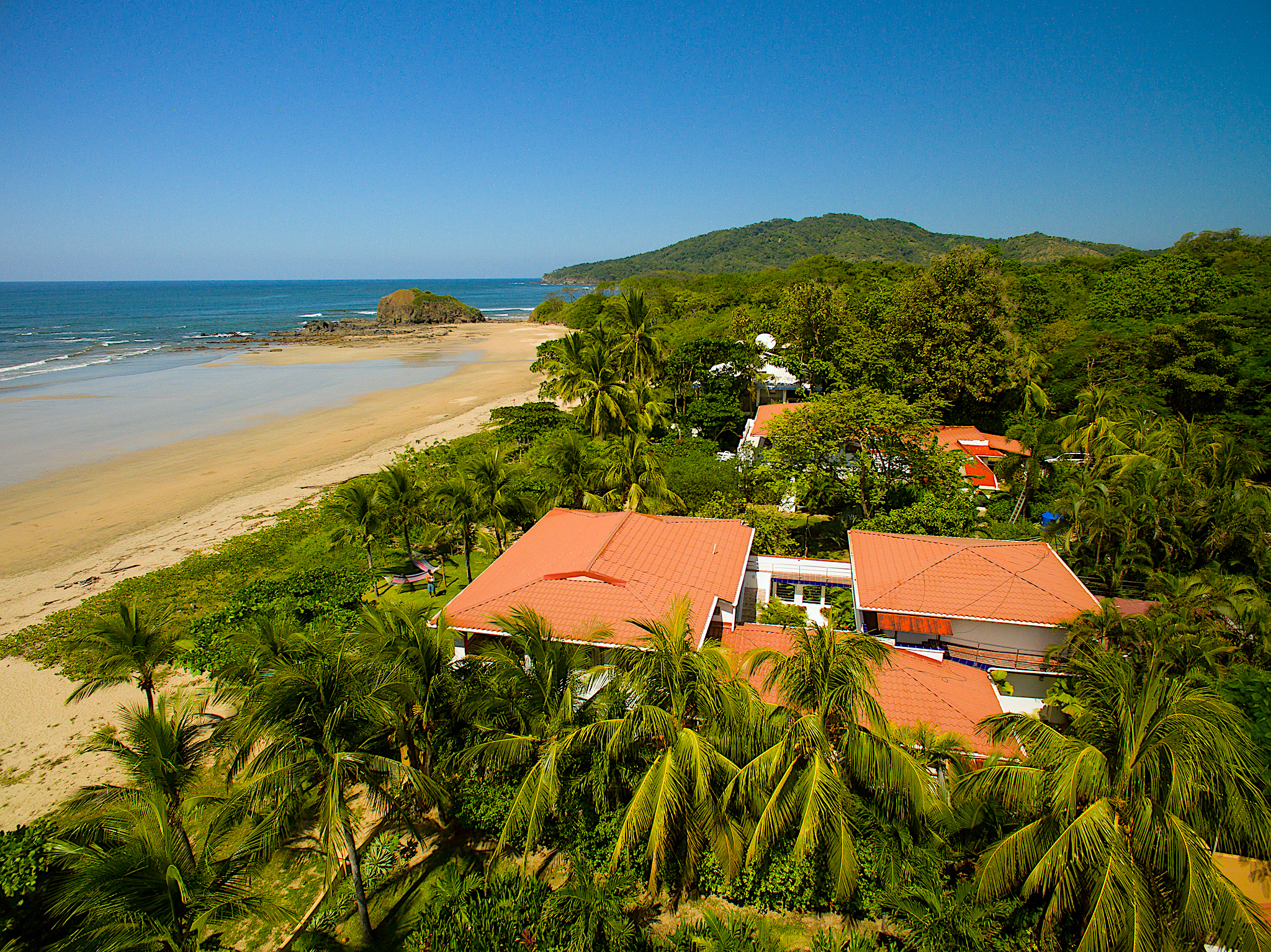 Playa Grande, North Aerial View