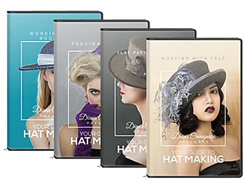 Your Guide to Hat Making - DVD Collection