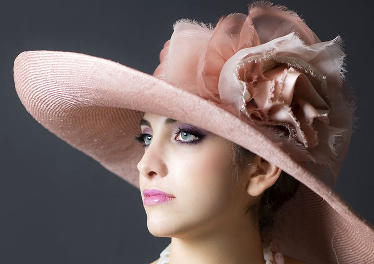 "Couture Hat ""Valerie"""