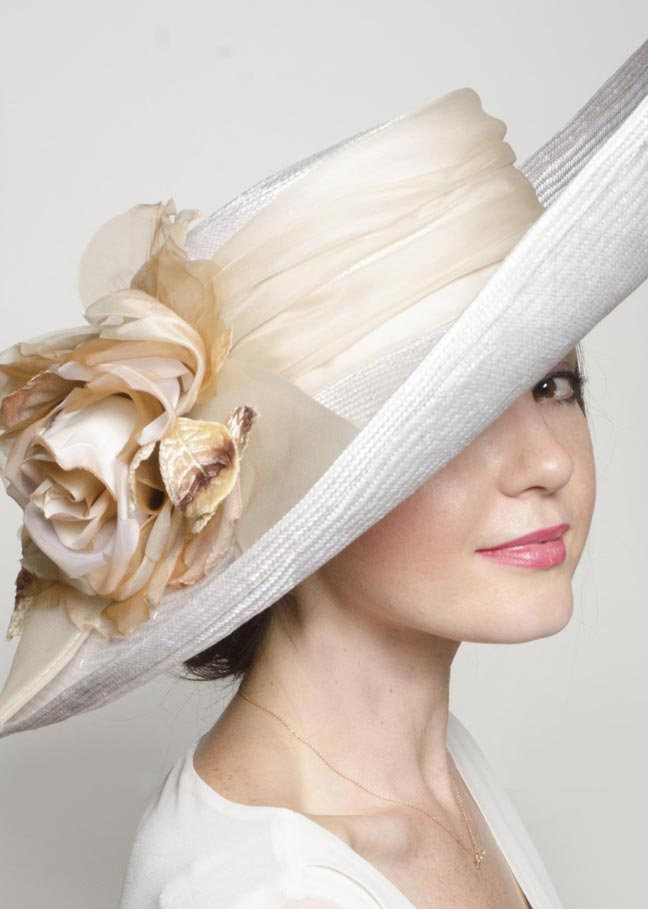 celebrity with couture hat