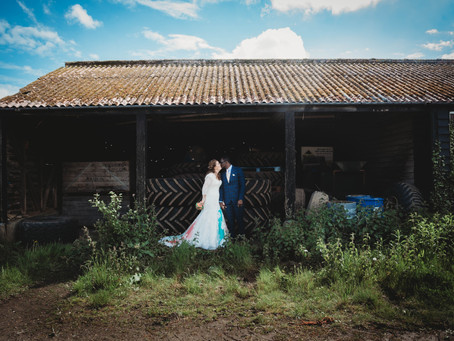 Natalie & Bayo at The Red Brick Barn, Rochford