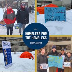 Homeless for the Homeless