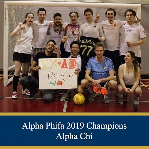 Alpha Phi Soccer for Charity
