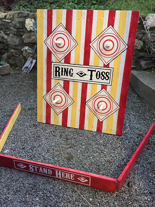 RING TOSS VINTAGE FAIRGROUND GAME