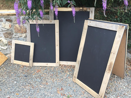 Various Chalk Board Signs