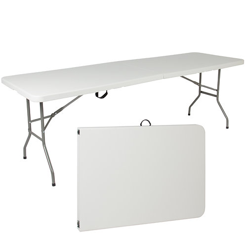 6ft FOLD UP PLASTIC TABLE