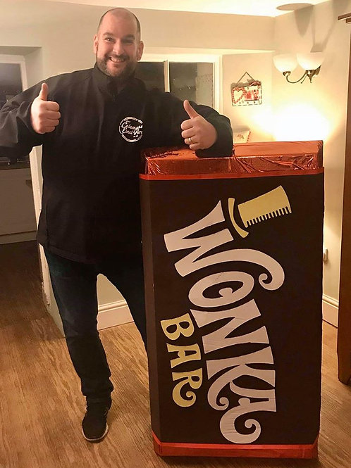 GIANT WONKA CHOCOLATE BAR