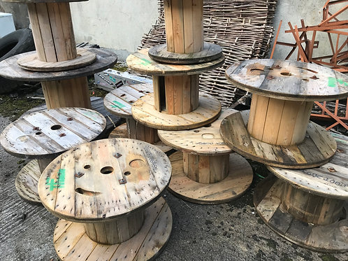 RUSTIC CABLE REELS