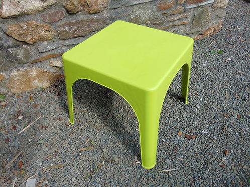 LIME GREEN FUNKY RETRO COFFEE TABLE