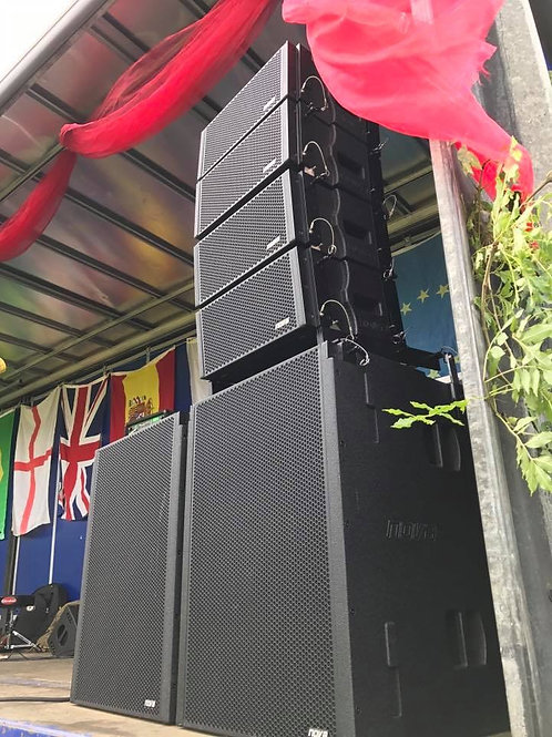 FESTIVAL & EVENT PA & LIGHTING PACKAGE