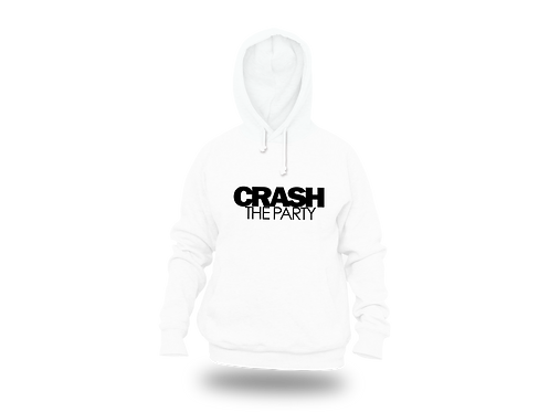 Crash The Party Hoodie White