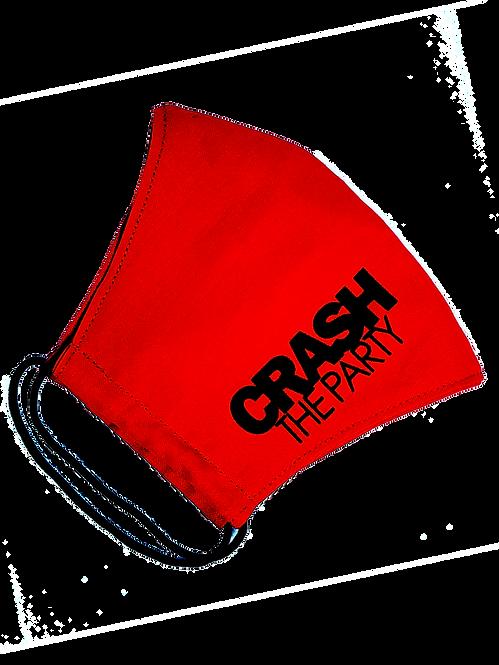 CTP Red & Black Mask