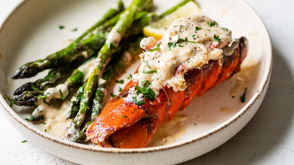 Lobster-Tails-with-Lemon-Parmesan-Cream-