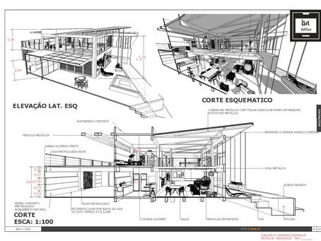Detalhamento de projeto arquitetônico