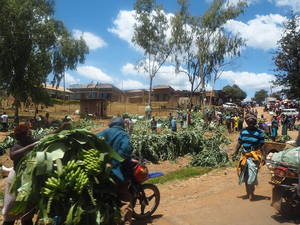 Image of Meru citizens at work