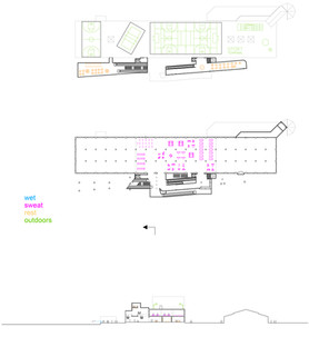 Sports Terminal Upper Plans