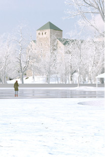 Seasons over the Turku Castle