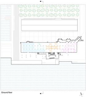 Sports Terminal Site Plan