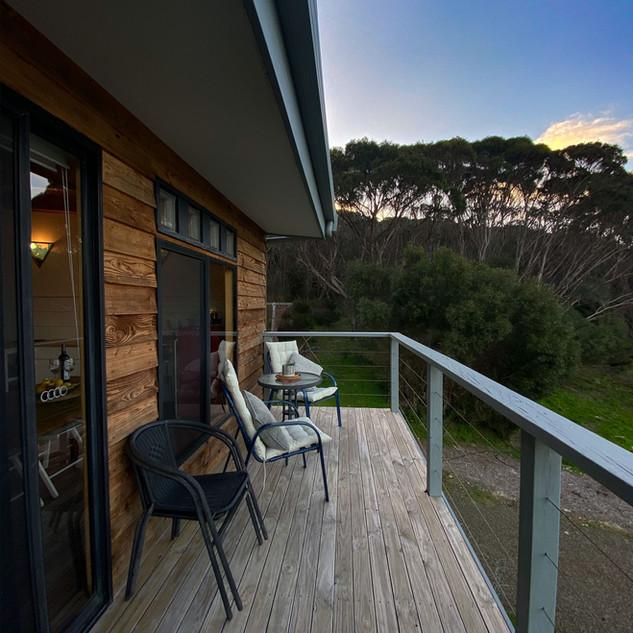Swans Studio Balcony Deck