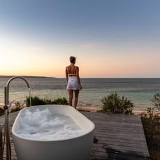 ONE KI- Bath at Sunset