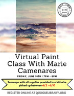 Virtual Paint Class With Marie Camenares