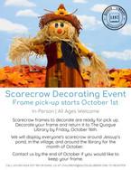 Scarecrow Decorating Event