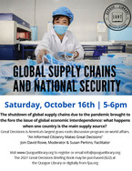 Great Decisions from The Foreign Policy Association: Global Supply Chains & National Security