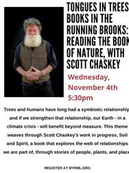 Reading by Scott Chaskey