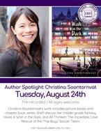 Author Spotlight: Christina Soontornvat