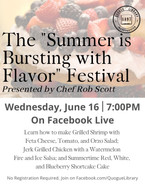 """The """"Summer is Bursting with Flavor"""" Festival"""