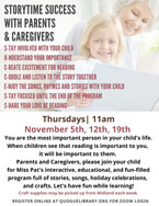 Storytime with Parents & Caregivers
