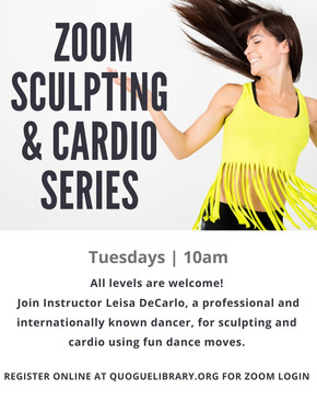 Weekly Sculpting & Cardio Class
