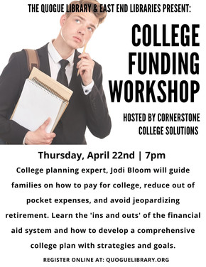 College Funding Workshop