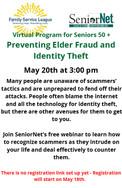 Preventing Elder Fraud