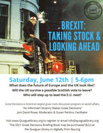 Great Decisions from The Foreign Policy Association: Brexit, Taking Stock & Looking Ahead