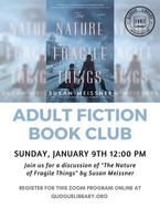 Adult Fiction Book Club