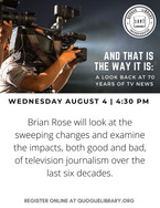 Brian Rose television journalism